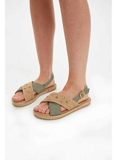 DeFacto Sandalet Haki